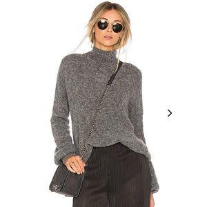 Lovers + Friends x Revolve Gray Sweater